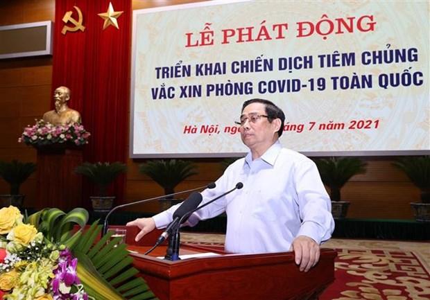 Thu tuong Pham Minh Chinh: Nhieu nguoi muon uu tien vaccine phong COVID-19 cho noi dich benh phuc tap hinh anh 2