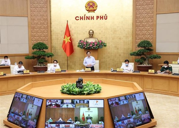 Chuong trinh hanh dong cua Chinh phu thuc hien Ke hoach phat trien kinh te - xa hoi 5 nam 2021-2025 hinh anh 1