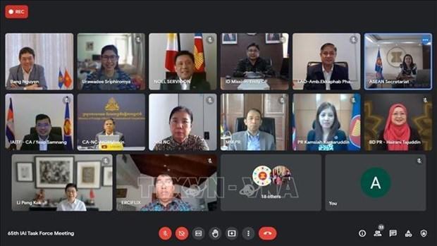 越南主持东盟一体化倡议工作组会议 hinh anh 1