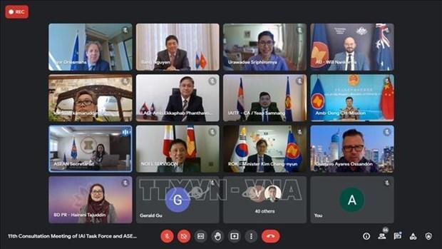 越南主持东盟一体化倡议工作组会议 hinh anh 2