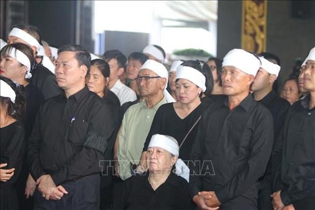 Cu hanh trong the Le truy dieu va an tang dong chi Tran Quoc Huong hinh anh 12