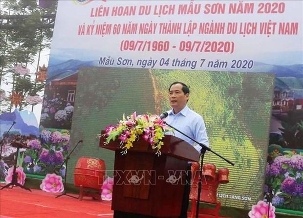 Khai mac Lien hoan du lich Mau Son nam 2020 hinh anh 1