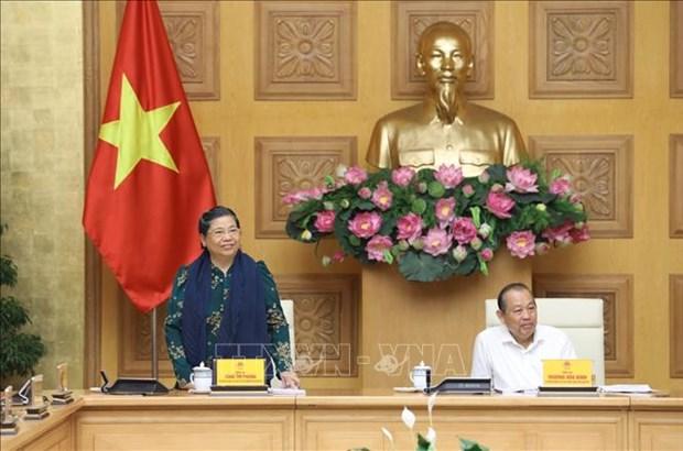 Lam tot cong tac chuan bi Dai hoi dai bieu toan quoc cac dan toc thieu so Viet Nam lan thu II hinh anh 4
