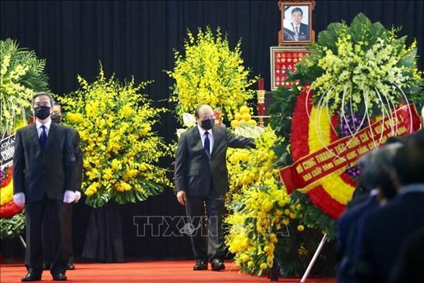 Le vieng nguyen Tong Bi thu Le Kha Phieu hinh anh 8