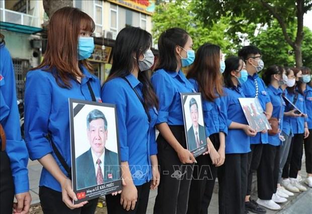 Le truy dieu va an tang nguyen Tong Bi thu Le Kha Phieu hinh anh 27