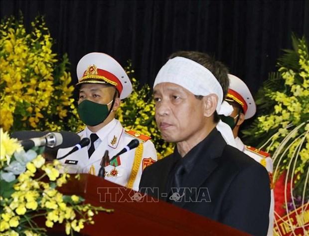 Le truy dieu va an tang nguyen Tong Bi thu Le Kha Phieu hinh anh 7