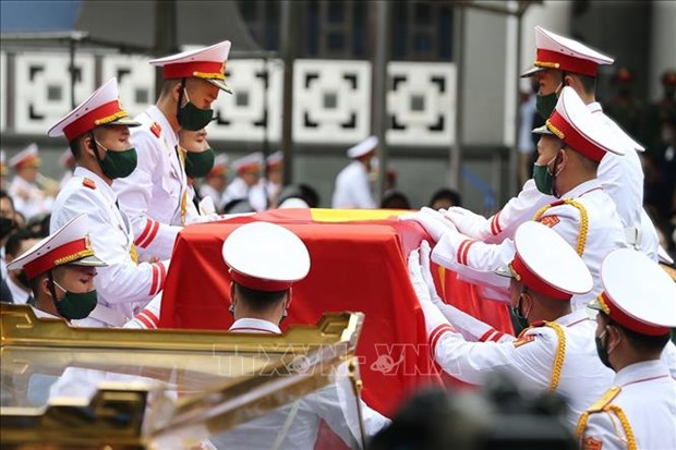 Le truy dieu va an tang nguyen Tong Bi thu Le Kha Phieu hinh anh 13