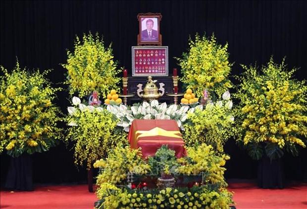 Le truy dieu va an tang nguyen Tong Bi thu Le Kha Phieu hinh anh 1