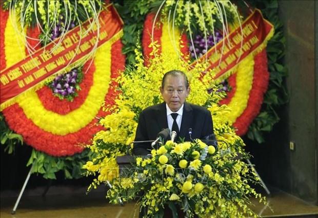 Le truy dieu va an tang nguyen Tong Bi thu Le Kha Phieu hinh anh 3