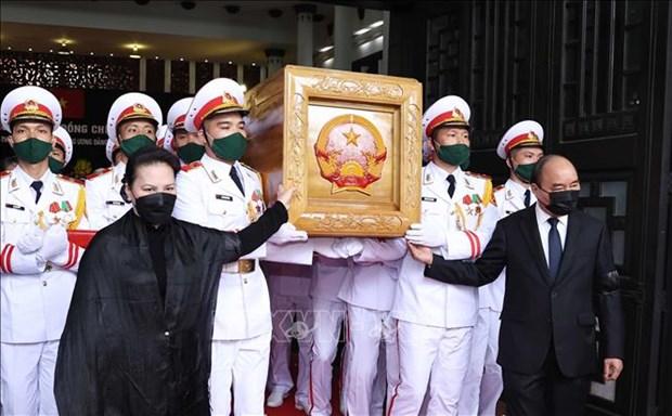 Le truy dieu va an tang nguyen Tong Bi thu Le Kha Phieu hinh anh 11