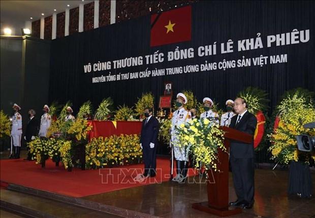 Le truy dieu va an tang nguyen Tong Bi thu Le Kha Phieu hinh anh 6