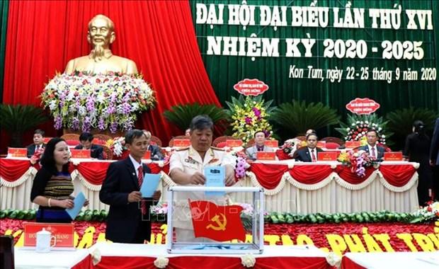 Ong Duong Van Trang tai dac cu Bi thu Tinh uy Kon Tum hinh anh 2
