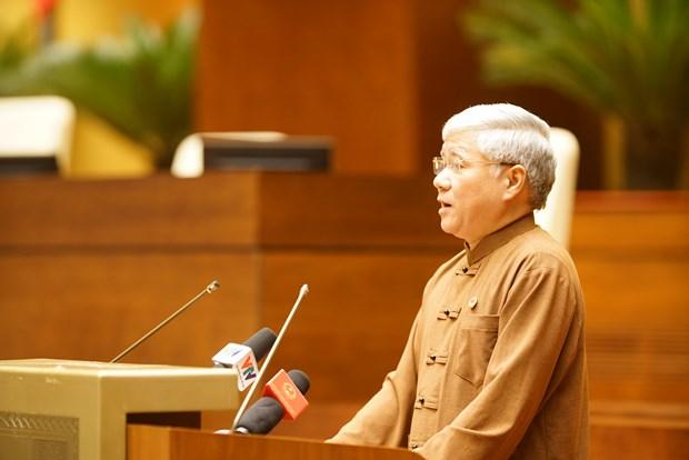 Chu tich Quoc hoi Nguyen Thi Kim Ngan gap mat Doan dai bieu du Dai hoi dai bieu toan quoc cac dan toc thieu so Viet Nam lan thu II hinh anh 2