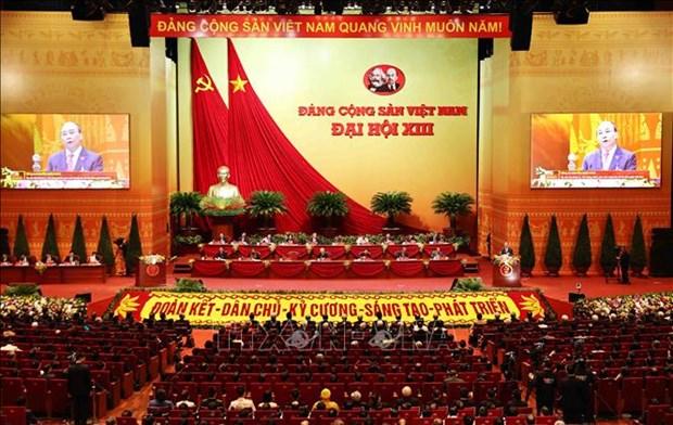 Toan van Dien van khai mac cua Thu tuong Nguyen Xuan Phuc tai Dai hoi XIII cua Dang hinh anh 2