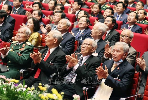 Khai mac trong the Dai hoi dai bieu toan quoc lan thu XIII Dang Cong san Viet Nam hinh anh 8
