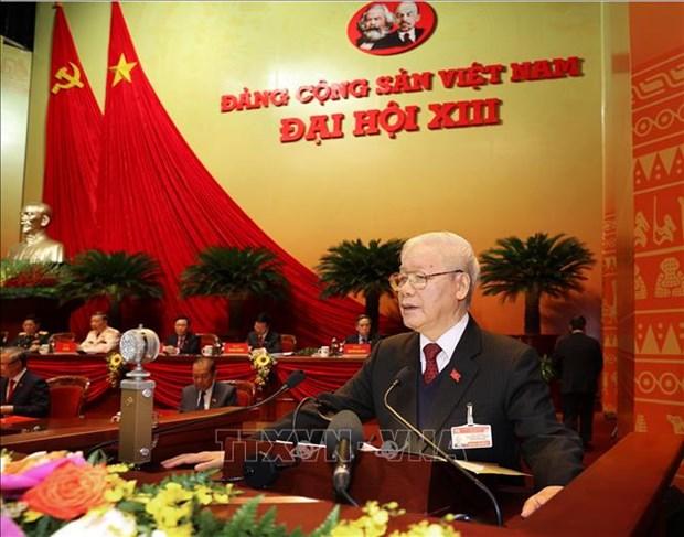 Toan van Bao cao cua Ban Chap hanh Trung uong Dang khoa XII ve cac van kien trinh Dai hoi XIII cua Dang hinh anh 1