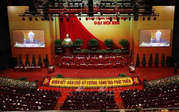 Toan van Bao cao cua Ban Chap hanh Trung uong Dang khoa XII ve cac van kien trinh Dai hoi XIII cua Dang hinh anh 2