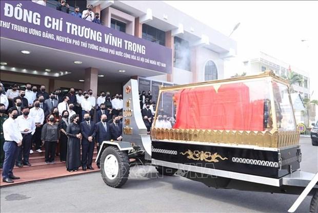 Le truy dieu va an tang nguyen Pho Thu tuong Truong Vinh Trong hinh anh 13
