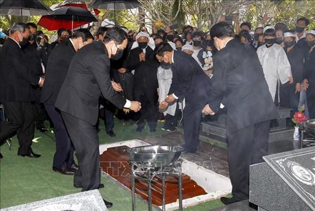 Le truy dieu va an tang nguyen Pho Thu tuong Truong Vinh Trong hinh anh 21