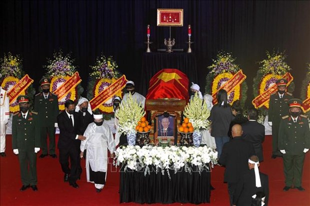 Le truy dieu va an tang nguyen Pho Thu tuong Truong Vinh Trong hinh anh 7