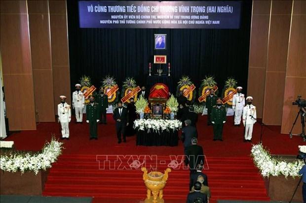 Le truy dieu va an tang nguyen Pho Thu tuong Truong Vinh Trong hinh anh 8