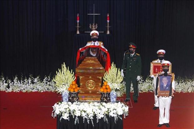 Le truy dieu va an tang nguyen Pho Thu tuong Truong Vinh Trong hinh anh 9