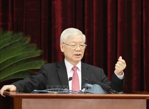 Tong Bi thu, Chu tich nuoc Nguyen Phu Trong: Khan truong chuan bi, tien hanh thang loi cuoc bau cu dai bieu Quoc hoi va HDND cac cap nhiem ky 2021-2026 hinh anh 1