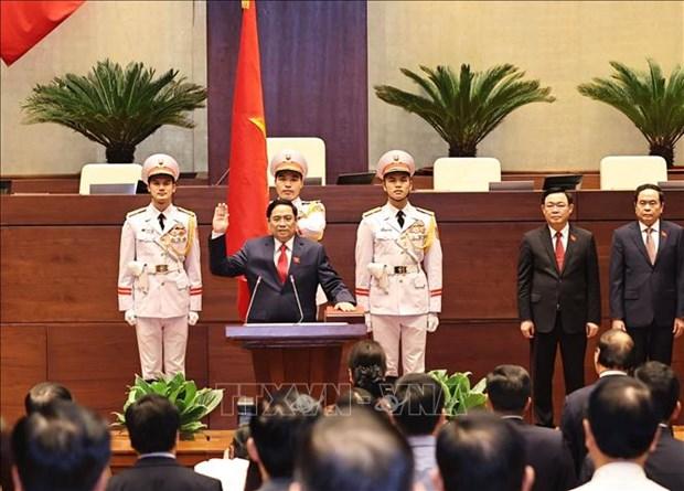 Tan Thu tuong Chinh phu Pham Minh Chinh: No luc cung cac thanh vien Chinh phu doan ket, liem chinh, hanh dong quyet liet, hieu qua hinh anh 1