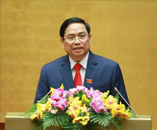 Tan Thu tuong Chinh phu Pham Minh Chinh: No luc cung cac thanh vien Chinh phu doan ket, liem chinh, hanh dong quyet liet, hieu qua hinh anh 3