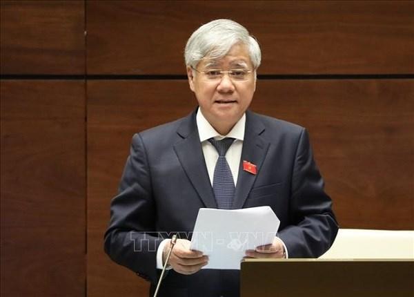 Bo Chinh tri chi dinh ong Do Van Chien giu chuc Bi thu Dang doan Mat tran To quoc Viet Nam nhiem ky 2019 - 2024 hinh anh 1