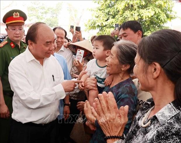 Chu tich nuoc Nguyen Xuan Phuc dang huong tai Le Gio To Hung Vuong nam Tan Suu 2021 hinh anh 16