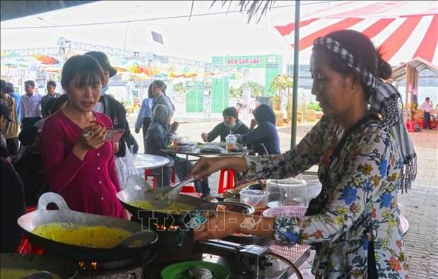 Dam da huong vi phuong Nam trong Ngay hoi Banh dan gian Nam bo 2021 hinh anh 3