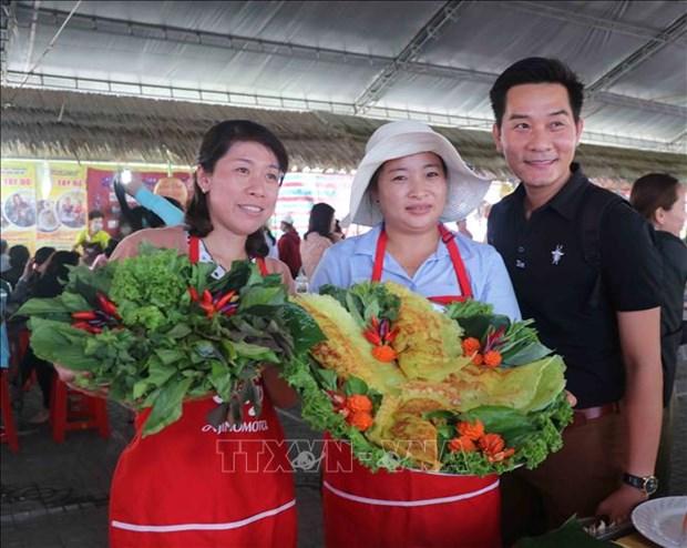 Dam da huong vi phuong Nam trong Ngay hoi Banh dan gian Nam bo 2021 hinh anh 4