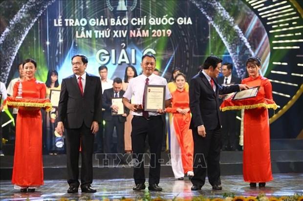 Le trao Giai Bao chi Quoc gia lan thu XIV, nam 2019 hinh anh 6