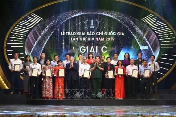 Le trao Giai Bao chi Quoc gia lan thu XIV, nam 2019 hinh anh 8