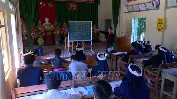 Ong Phung Quang Du tam huyet voi viec giu gin va truyen day chu nom Dao hinh anh 2