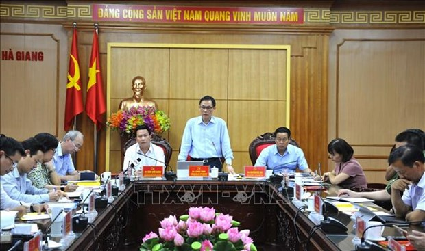 Ha Giang: Nang cao hieu qua hoat dong doi ngoai, tao dong luc phat trien nhanh va ben vung hinh anh 1