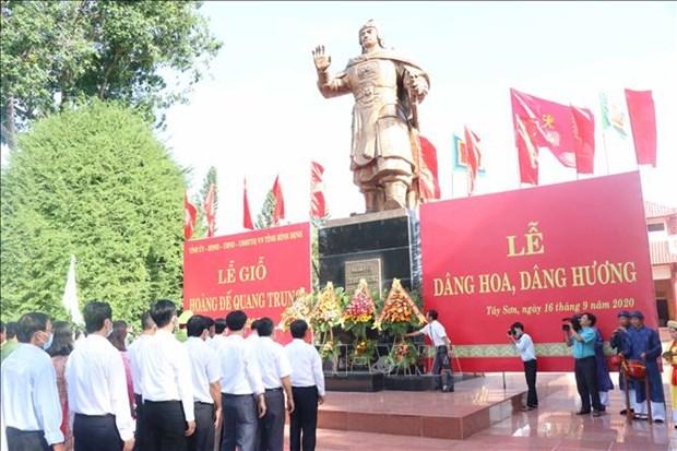 Le gio Hoang de Quang Trung lan thu 228 hinh anh 2