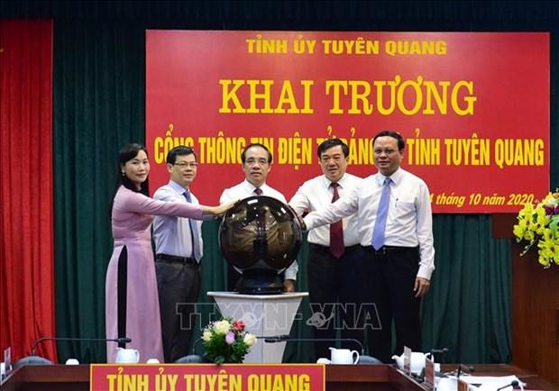 Doi moi, sang tao, dua Tuyen Quang tro thanh tinh phat trien kha trong khu vuc mien nui phia Bac hinh anh 4