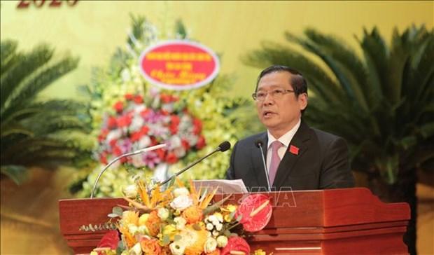 Ong Lai Xuan Mon tai dac cu Bi thu Tinh uy Cao Bang hinh anh 1
