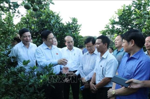 Truong Ban To chuc Trung uong Pham Minh Chinh tham va lam viec tai Dak Lak hinh anh 1