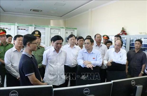 Truong Ban To chuc Trung uong Pham Minh Chinh tham va lam viec tai Dak Lak hinh anh 2