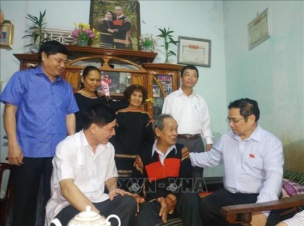 Truong Ban To chuc Trung uong Pham Minh Chinh tham va lam viec tai Dak Lak hinh anh 3