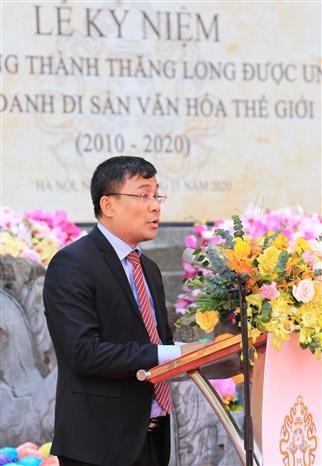 Le ky niem 10 nam Hoang thanh Thang Long duoc UNESCO ghi danh la Di san van hoa the gioi hinh anh 5