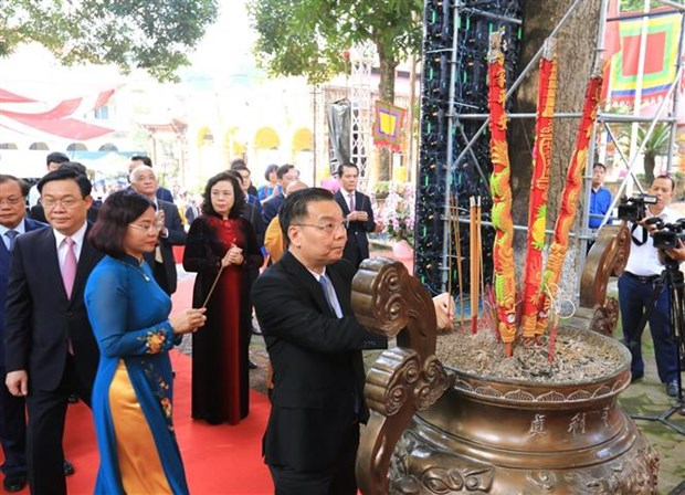 Le ky niem 10 nam Hoang thanh Thang Long duoc UNESCO ghi danh la Di san van hoa the gioi hinh anh 3