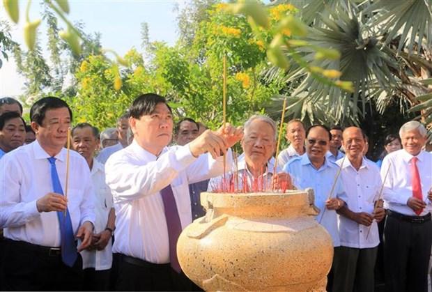 Ky niem 80 nam Ngay Nam Ky khoi nghia va 98 nam Ngay sinh Thu tuong Chinh phu Vo Van Kiet hinh anh 2