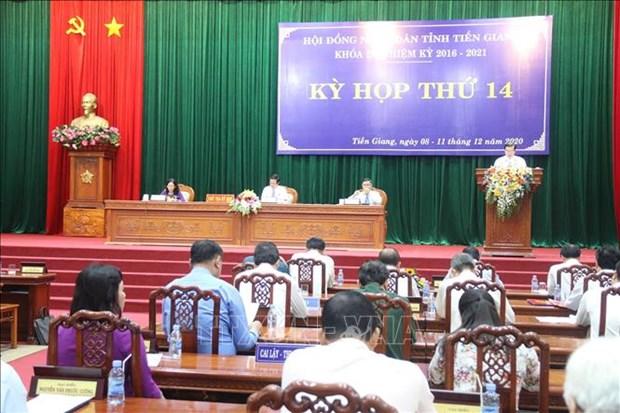 Ong Nguyen Van Vinh duoc bau lam Chu tich UBND tinh Tien Giang hinh anh 2