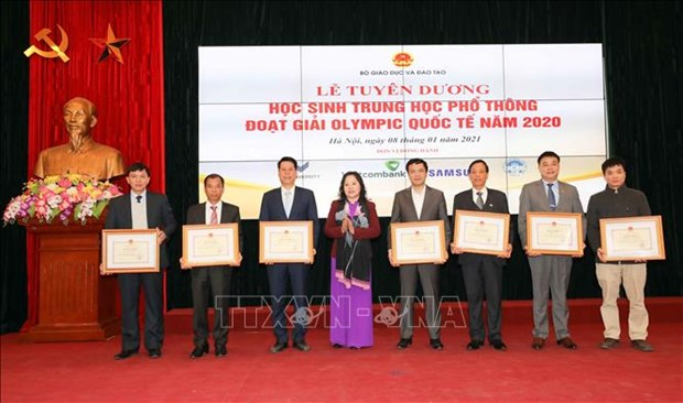 Tuyen duong hoc sinh Trung hoc pho thong doat giai Olympic quoc te nam 2020 hinh anh 11