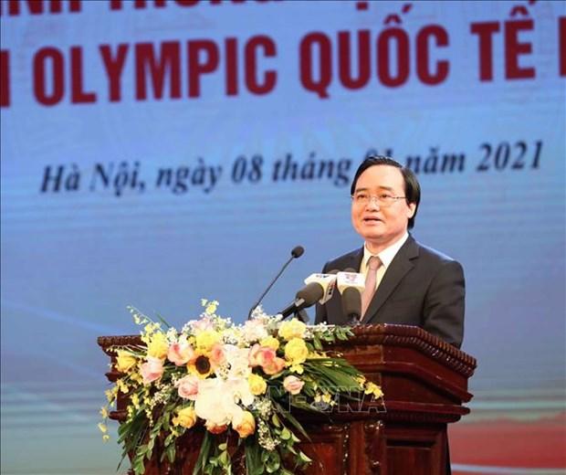 Tuyen duong hoc sinh Trung hoc pho thong doat giai Olympic quoc te nam 2020 hinh anh 7