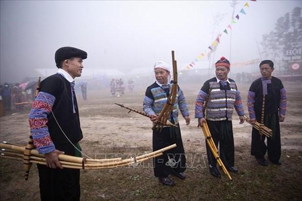 Hoa Binh: Le hoi Gau Tao thu hut duoc hang nghin nguoi tham gia hinh anh 2